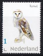 Nederland - Beleef De Natuur - Kerkuil - Uil/owl/Eule/chouette - MNH - Owls