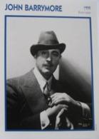 John BARRYMORE (1935)  - Fiche Portrait Star Cinéma - Filmographie -  Photo Collection Edito Service - Fotos