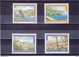 ITALIE 1987 TOURISME Yvert 1744-1747 NEUF** MNH - 6. 1946-.. Republik