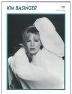 Kim BASINGER (1985)  - Fiche Portrait Star Cinéma - Filmographie -  Photo Collection Edito Service - Fotos