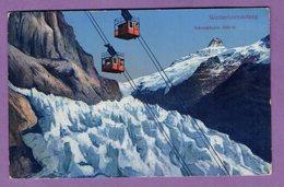 Suisse Canton Bern Wetterhorn Aufzug - Cabine Teleferique - Carte Ecrite  1914  - Village Grindelwald 1954 - Le Lot De 2 - BE Berne