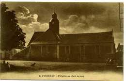 44 - FROSSAY - L'Eglise Au Clair De Lune. - Frossay