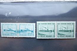 1,35F Et 2,25F Mailboots Prince Baudouin Et Marie Henriette - Unused Stamps