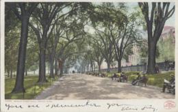 Etats-Unis - Boston - Beacon Street Mall - Postmarked 1908 - Boston