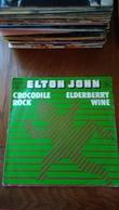Disque Vinyle 45 T Elton John Crocodile Rock Eldeberry Wine - Rock