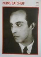 Pierre BATCHEFF (1925)  - Fiche Portrait Star Cinéma - Filmographie - Photo Collection Edito Service - Photos
