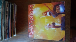 Disque Vinyle 45 T Iron Maiden Running Free Sanctuary - Rock