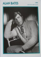 Alan BATES (1965)  - Fiche Portrait Star Cinéma - Filmographie -  Photo Collection Edito Service - Fotos
