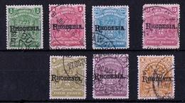 Rhodesia - British South Africa Company - 1909 Optd Rhodesia - Southern Rhodesia (...-1964)