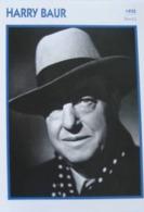 Harry BAUR (1935)   - Fiche Portrait Star Cinéma - Filmographie -  Photo Collection Edito Service - Photos