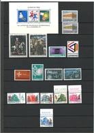 Luxemburg Jahrgang 1969 Komplett Postfrisch - Luxemburg
