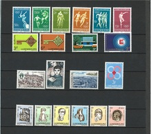 Luxemburg Jahrgang 1968 Komplett Postfrisch - Luxemburg