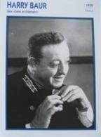 Harry BAUR (Crime Et Hatiment) (1935) - Fiche Portrait Star Cinéma - Filmographie -  Photo Collection Edito Service - Photos