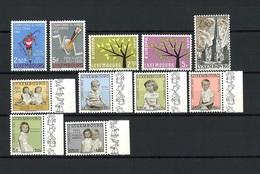 Luxemburg Jahrgang 1962 Komplett Postfrisch - Luxemburg