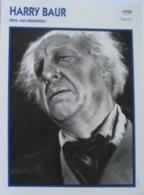 Harry BAUR (Les Misérables) (1935)  - Fiche Cinéma Filmographique - Photo Collection Edito Service - Photos