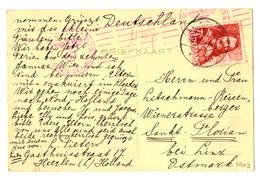 Netherlands Postcard Posted 1943 To Austria - Censored B200401 - Periode 1891-1948 (Wilhelmina)