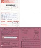 Récépissé De Dépôt D'un Envoi Recommandé - Formule 201 PoD 2009 Avec Son AR - Documenti Della Posta