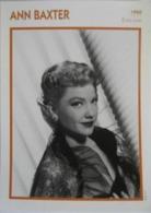 Ann BAXTER (1950)  - Fiche Cinéma Filmographique - Photo Collection Edito Service - Photos