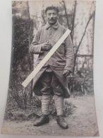 1915 Poilu 6 Eme Régiment D'infanterie De Marine Marsouin RIC Insigne Képi Capote Poiret Tranchée Ww1 1914 Carte Photo - Guerre, Militaire