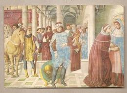 San Gimignano (SI) - Chiesa Di S. Agostino - Cartolina Viaggiata - 1973 - Siena