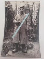 1915 Vosges Cote 607 La Fontenelle 253 Eme Régiment D'infanterie Capote Poiret Poilu Tranchée Ww1 1914 Carte Photo - Guerre, Militaire