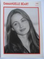 Emmanuelle BEART (1990)   - Fiche Cinéma Filmographique - Photo Collection Edito Service - Photos