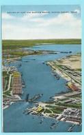 1451 - AMERIKA - USA - TEXAS - CORPUS CHRISTI - PORT AND BASCULE BRIDGE - Corpus Christi