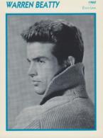Warren BEATTY (1960) - Fiche Portrait Star Cinéma - Filmographie - Photo Collection Edito Service - Photos