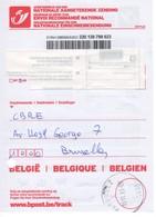Récépissé De Dépôt D'un Envoi Recommandé - 2013 - Formule 201 PoD - Documenti Della Posta