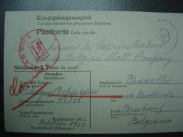 1942 - Carte Kriegsgefangenenpost -  Correspodance Prisonniers De Guerre - Allemagne