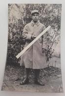 1915 Meuse Woevre Champagne 10 Eme Régiment D'infanterie Capote Poiret Poilu Tranchée Ww1 1914 Carte Photo - Guerre, Militaire