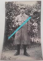 1915 Argonne Vauquois Haute Chevauchée 4 Eme Régiment D'infanterie Capote Poiret Poilu Tranchée Ww1 1914 Carte Photo - Guerre, Militaire