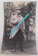 1915 Vosges Chapelotte Ban De Sapt 343 Eme Régiment D'infanterie Capote Poiret Poilu Tranchée Ww1 1914 Carte Photo - Guerre, Militaire
