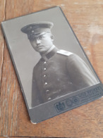 HILDESHEIM - WILH. REDEKE - OFFIZIER MIT ZWICKER UND SCHMISS - 62 - BURSCHENSCHAFT - STUD.VERBINDUNG - Krieg, Militär