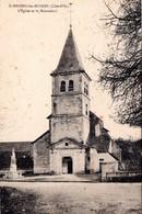 FR-21: SAINT BROING LES MOINES: L'Eglise Et Le Monument - Other Municipalities