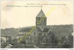 88.  RELANGES .  Eglise . Monument Historique . - Sonstige Gemeinden