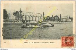 75.  PARIS .  Les Serres Du Cours La Reine . - France