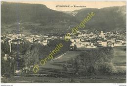 01.  OYONNAX .  Panorama . - Oyonnax