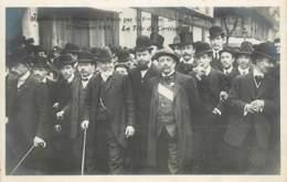 PARIS MANIFESTATION 17 OCTOBRE 1909 CONTRE L'EXECUTION DE FERRER LA TETE DU CORTEGE - Manifestations