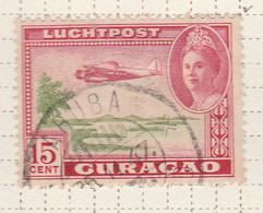 PIA - CURAçAO - 1943 -Francobollo Di Posta Aerea - Aereo Sopra Curaçao - (Yv  P.A.26) - West Indies