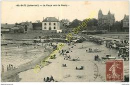 44.  BATZ . La Plage Vers Le Bourg . - Batz-sur-Mer (Bourg De B.)