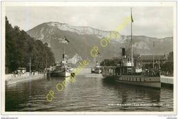 74.  ANNECY .  Les Bateaux Du Lac . - Annecy