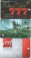 Lot De 3 Cartes : Tulalip Resort Casino : Marysville WA - Cartes De Casino