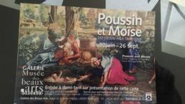 CSM -  Musée De BORDEAUX Du Dessin à La Tapisserie .................POUSSIN Et MOISE.................. - Bordeaux