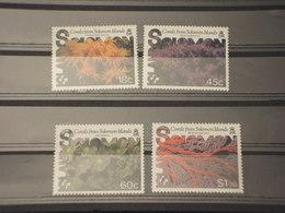 SOLOMON - 1987 CORALLI 4 VALORI - NUOVO(++) - Isole Salomone (1978-...)