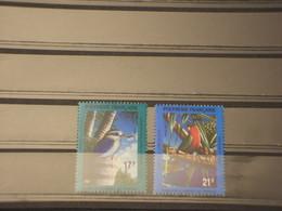 POLINESIA - 1991 UCCELLI 2 VALORI - NUOVO(++) - Polinesia Francesa