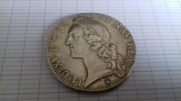ECU LOUIS XV 1748 W  ARGENT AU BANDEAU - 1715-1774 Louis XV. Le Bien-Aimé