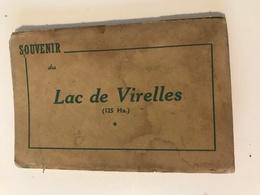 Dépliant De 8 Cartes-vues à Détacher  Souvenir Du LAC DE VIRELLES (125 Ha.) - Chimay