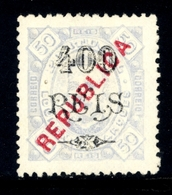 ! ! Lourenco Marques - 1917 D. Carlos Local Republica 400 R - Af. 157 - NGAI - Lourenco Marques