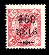 ! ! Lourenco Marques - 1917 D. Carlos OVP Local Republica 400 R ( Perf. 11 3/4) - Af. 158 - No Gum - Lourenco Marques